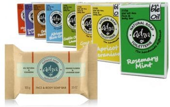 FREE Sample of Adra Natural Soap
