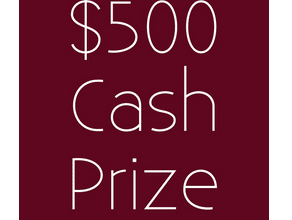 Enter to Win $500! (ends 3/21)