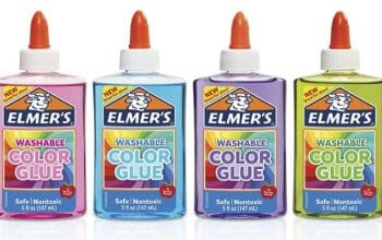 Amazon: Elmer's Washable Translucent Color Glue 4 Pack (Low Price – Under $10)