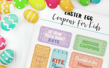 FREE Printable Easter Egg Coupons