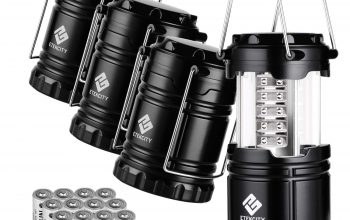 Amazon: 4 Pack Portable LED Lanterns Under $20!