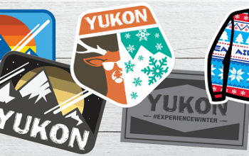 FREE Yukon Charlie's Sticker Pack