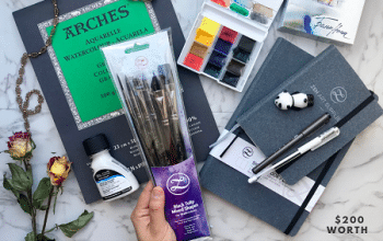 ZenART Watercolor Giveaway (ends 3/21)