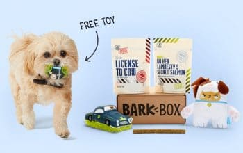 Get Your First Bark Box for only $5 + FREE Extra Toys (Limited Time!)