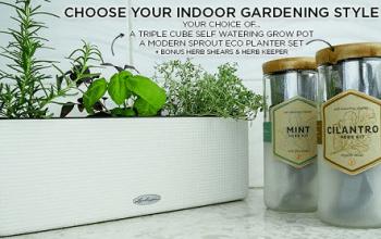 Enter to Win an Indoor Gardening Bundle (ends 4/16)