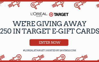 $50 Target e-Gift Card Giveaway – 5 Winners (Ends 4/5)