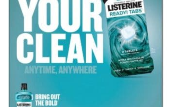 Save on NEW Listerine® Ready! Tabs®at Walgreens