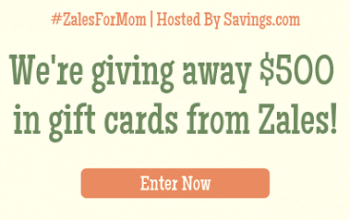 Enter to Win a $100 Zales Gift Card – 5 Winners (ends 5/3)