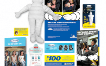 FREE Michelin Man Plush Doll, Tire Pressure Gauge + More