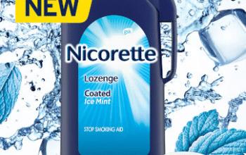FREE Nicorette Nicotine-free Mint Coated Lozenge Sample