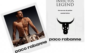 FREE Paco Rabanne Invictus Legend Cologne Scented Tattoo