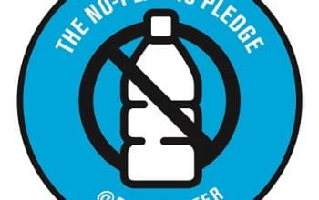 FREE No-Plastic Pledge Stickers and Coupon