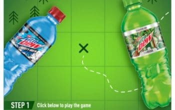 Mountain Dew #DewMarksTheSpot Sweepstakes (Ends 8/8)