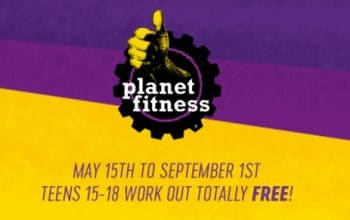 Planet Fitness: Teens Workout for FREE this Summer!