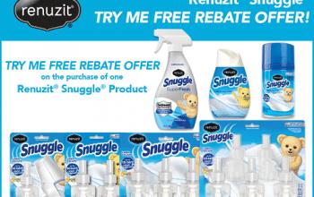 FREE Renuzit Snuggle Product (after rebate)