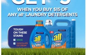 all® Laundry Detergent: Get a $5 Walmart eGift Card (w/Purchase)