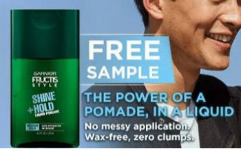 FREE Garnier Fructis Liquid Style Pomade Sample