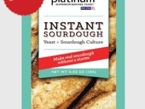 FREE Sample of Platinum Instant Sourdough Yeast