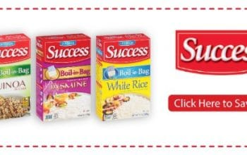 Save on Success® Rice or Quinoa with Ibotta at Walmart