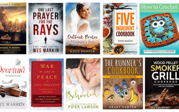 FREE Kindle Books for 8/2