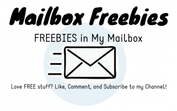 YouTube Video: Mailbox Freebies August 2019