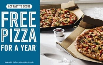 *Expired* Domino's 10,000 Gift Card Giveaway (8/26)