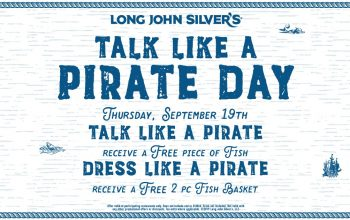 FREE Fish at Long John Silver's on 9/19