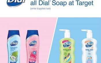10% off all Dial® Soap at Target