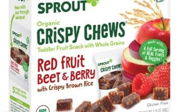 NEW Mom's Meet Sampling Opportunity: Sprout Red Fruit Beet & Berry Organic Crispy Chews