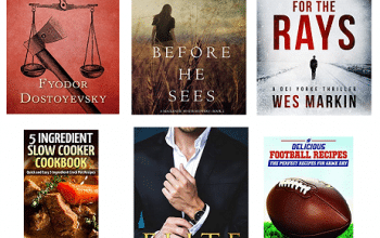 FREE Kindle Books for 9/5