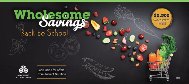 free coupons organic food