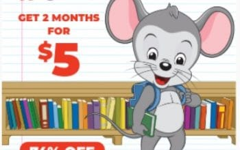Get 2 Months of ABCmouse for only $5!
