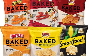Huge Savings at Amazon: Frito-Lay Baked & Popped Mix 40-Count Variety Pack