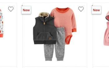 JCPenney: Up to 50% off – Carter's Baby Apparel + $4.99 Okie Dokie Slogan Body Suits