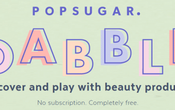 FREE Beauty Products from Popsugar Dabble