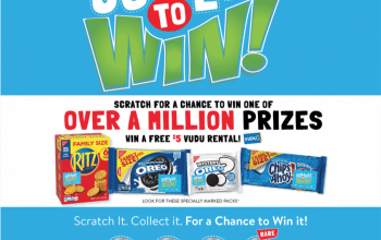 Collect To Win with RITZ, OREO & Chips Ahoy