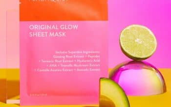 FREE Sample of Peach Lily Original Glow Sheet Mask (Instagram Required)