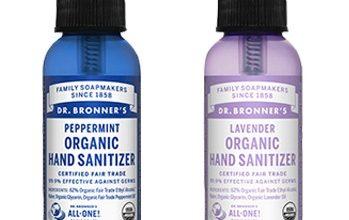 NEW Mom's Meet Sampling Opportunity: Dr. Bronner's Organic Hand Sanitizer