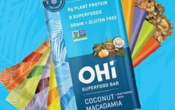 FREE OHi Superfood Snack Bar Product (Coupon)