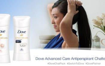 Chatterbox: Apply to Get a FREE Dove Advanced Care Chat Pack