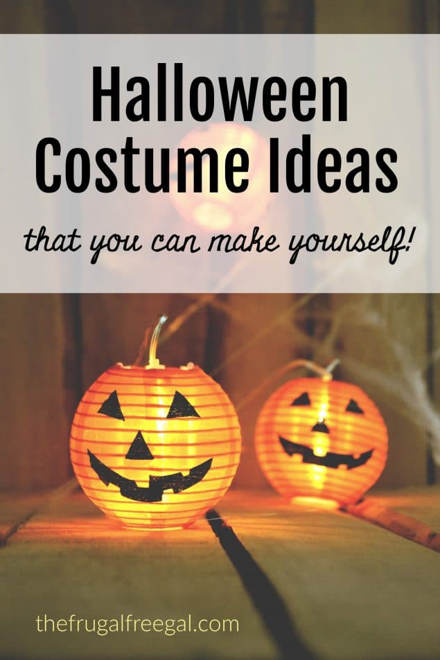 Ten Halloween Costume Ideas You Can Make Yourself