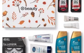 Target October Beauty Box only $7 Shipped!