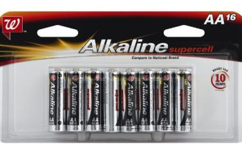 Walgreens: Buy One Get One FREE Batteries