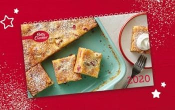 *Ends Today* 2020 Betty Crocker Calendar Sweepstakes (Ends 11/8)