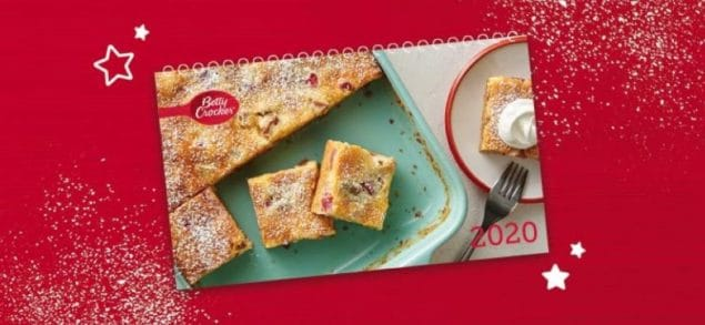 2020 Betty Crocker Calendar Sweepstakes