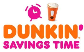 Dunkin' Donuts Savings Time Instant Win Game (Ends 12/1)
