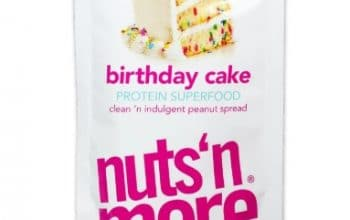 FREE Sample of Birthday Cake High Protein Peanut Spread