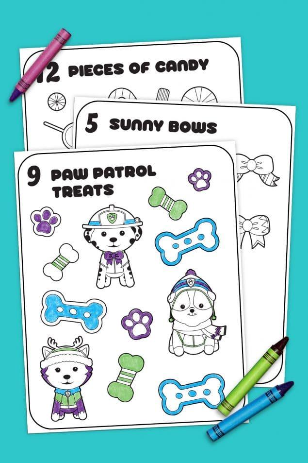 FREE 12 Days of Nick Jr. Coloring Book