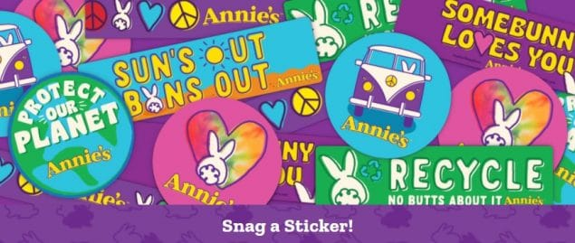 Annies FREE Stickers